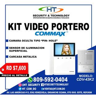 Kit Video Portero Commax Cdv-43k2