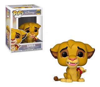 Simba The Lion King Rey Leon Disney Funko Pop