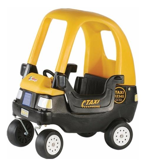 Auto Caminador Coupe Taxi Rotoys Puertas Techo Envio Gratis