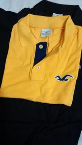 Camisa Camiseta Polo Hollister Masculina Tamanho P