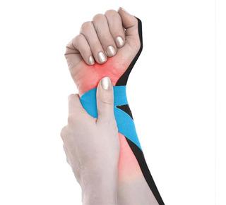 Fita Kinesio Muscle Fix Para Costas E Pulsos Multilaser