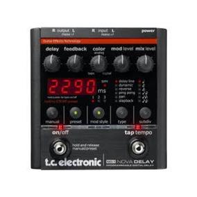 Pedal Tc Electronic Nova Delay Nd-1 Impecável