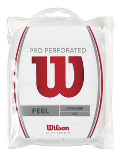 Overgrip Wilson Pro Perforated Pacote Com 12 Frete Grátis