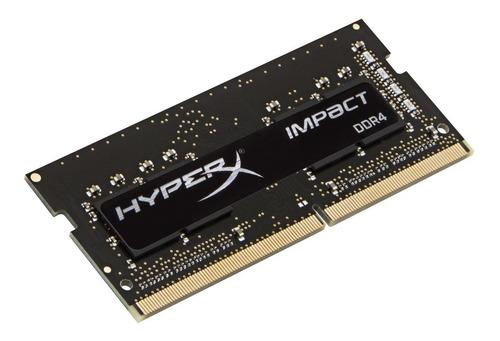 Imagem 1 de 2 de Memória Ram Ddr4 Hyperx Impact 8gb 2666mhz - Hx426s15ib2/8