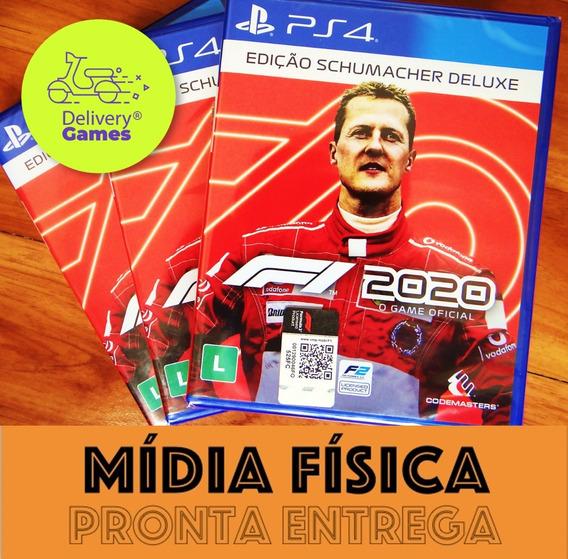 F1 2020 Edição Schumacher Deluxe Ps4 Mídia Física Lacrado