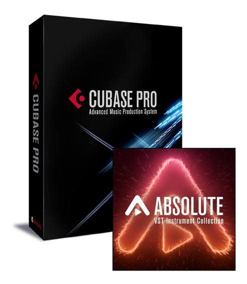 Steinberg Cubase Pro 10.5 Full + Absolute 4 Total Collection
