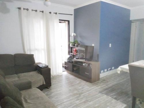 Apartamento 3 Dormitórios, 1 Vaga Na Vila Santos - Cf34199