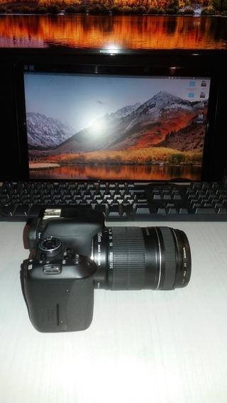 Câmera Canon T3i Com Lentes 18-135mm Câmera Usada