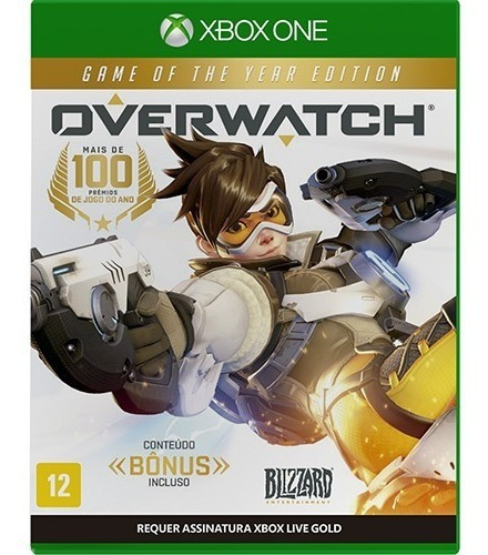 Overwatch Of The Year Edition Xbox One Midia Fisica