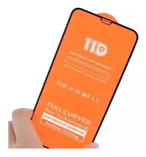 Vidrio Templado 11d Completo iPhone XS/ Xs Max/ Xr + Envio
