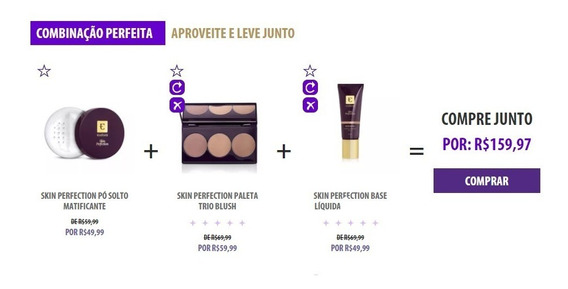 Kit Base + Pó Matificante + Paleta Contorno + Primer Eudora