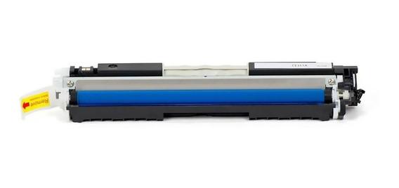 Toner Compativel Ce311a Cf351 Azul 126a 130a Cp1025 M176 M177 Ce311 Cf351