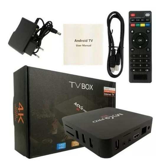 Transforme Sua Tv Em Smart 4k Full Pro 3gb/16gb Wi-fi