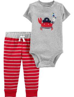 Carters Conjunto 2 Piezas Body Pantalon Bebe Nena Varon