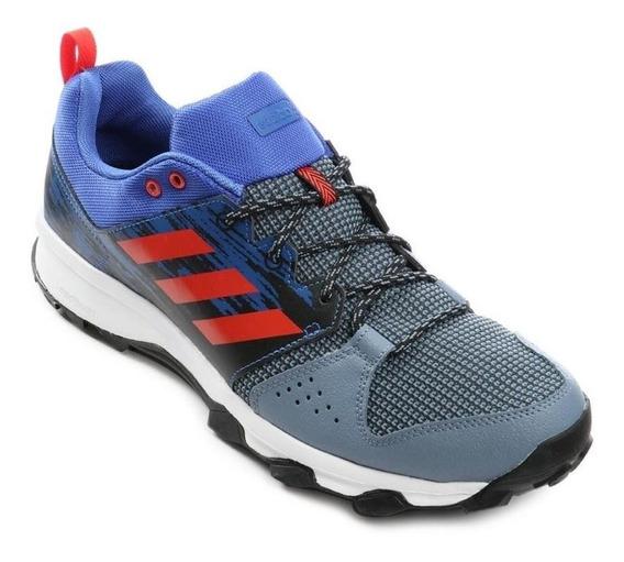 Tênis Running adidas Galaxy Trail Cm7376 Masculino Azul Verm