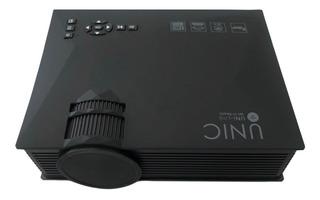 Mini Projetor Led Portátil Uc 68 Wifi 1800 Lumens Data Show Miracast Airplay Unic