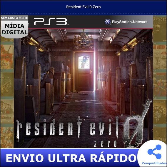 Resident Evil 0 Zero Midia Digital Envio Na Hora
