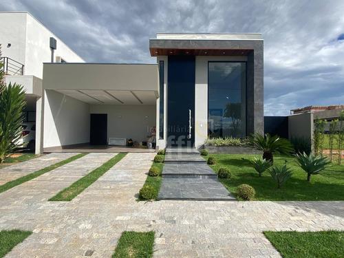 Casa À Venda, 205 M² Por R$ 1.100.000,00 - Condomínio Terras Alpha Anápolis - Anápolis/go - Ca0680