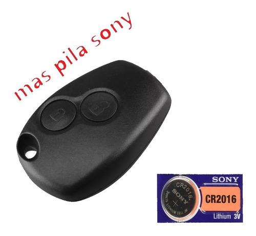 Carcasa Llave Renault + Pila Sony