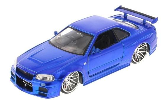 Mini Carro Nissan Velozes E Furiosos Escala 1:24 Jada Toys
