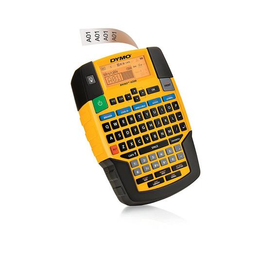 Rotulador Industrial Electronico Rhino 4200 Dymo Etiqueta