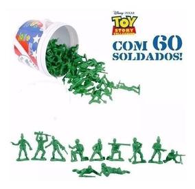 Balde Soldado Toy Story-toyng 60 Peças