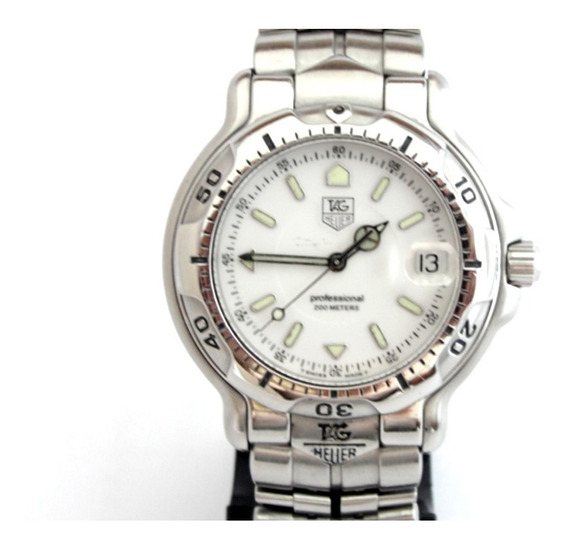 Relógio Tag Heuer Série 6000 - Wh1111-k1 - 200 Mts Original