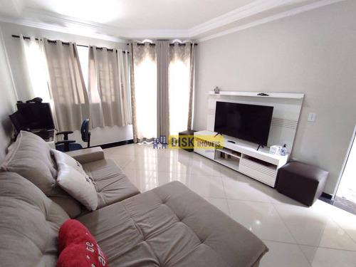 Imagem 1 de 13 de Sobrado Com 3 Dormitórios À Venda, 233 M² Por R$ 690.000,00 - Parque Selecta(montanhão) - São Bernardo Do Campo/sp - So0738
