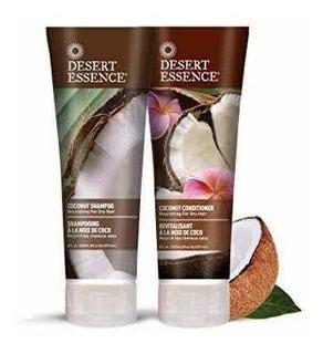 Desert Essence Shampoo Y Acondicionador De Coco Orgánico