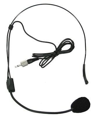 Microfone Cabeça Headset Karsect Ht9 P2 Rosca Reposição