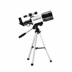 Telescópio Profissional Astronômico C/ Luneta Tripé F30070m