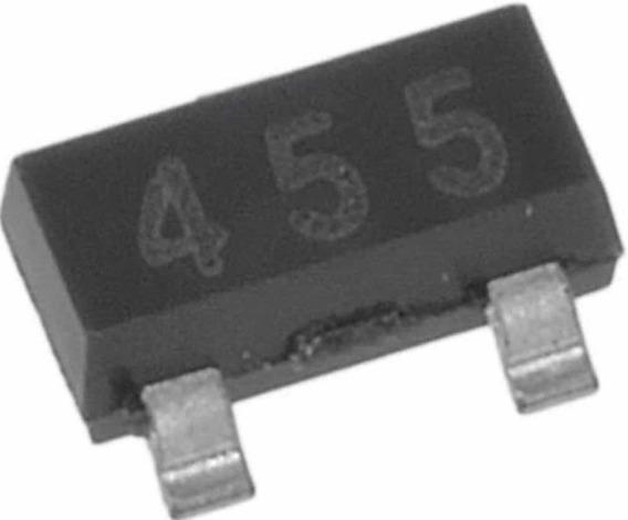 Trans Gp Bjt Npn 140 V 1a3pinos Sot-23 T / R (alt: Fmmt455ta