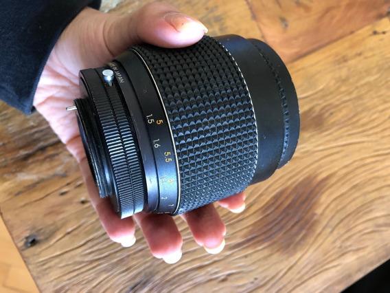 Lente Objetiva Sakar Mc 1:2.5 F= 135mm P/ Câmeras Com Rosca