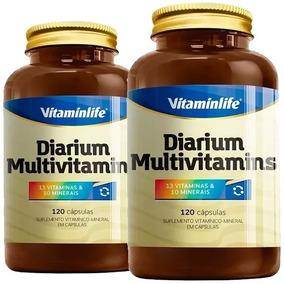 Kit 2 X Diarium Multivitamins 120 Cápsulas - Vitamin Life