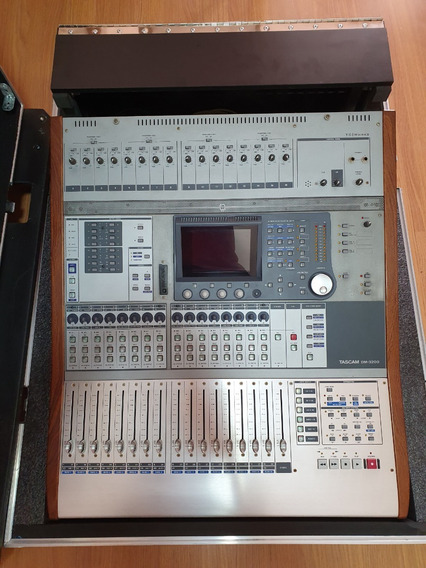 Mesa De Som Digital Tascam Dm 3200 + Interface + Hardcase