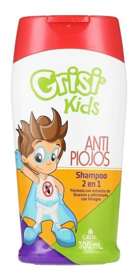 Shampoo Grisi Kids 2 En 1 Antipiojos 300 Ml
