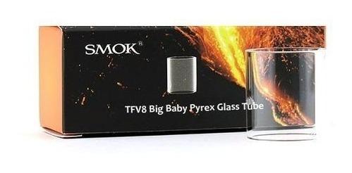 2 Un Vidro Tfv8 Big Baby Ou Stick V8 - Fibra Carbono