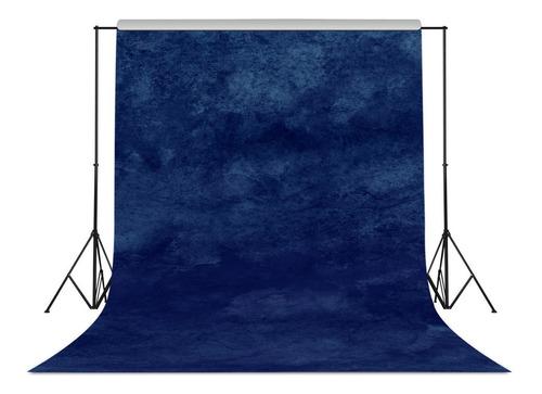 Fondo De Fotografia Retro Gradiente Azul Marino #501