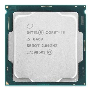 Procesador Intel Core i5-8400 6 núcleos 128 GB