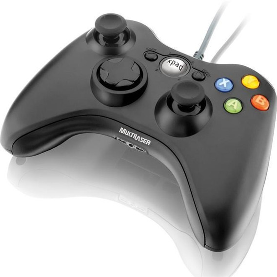 Controle Para Xbox E Pc Multilaser Js063 Joystick Usb