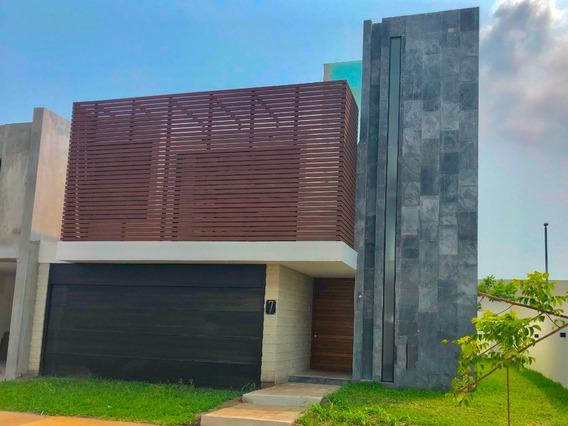 Casa En Punta Tiburón, Lista Para Estrenar