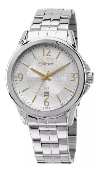 Relógio Condor Masculino Prata Co2115vo3k