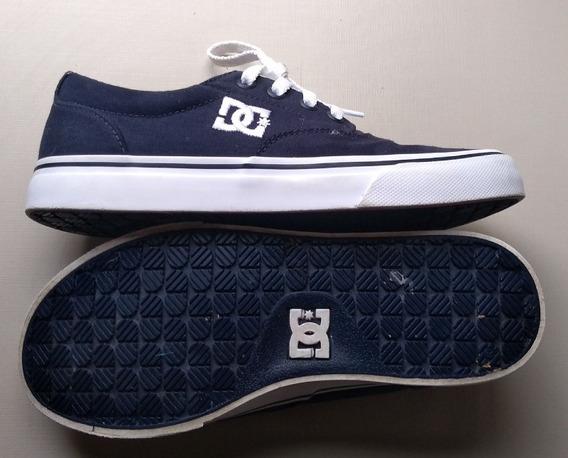 Tênis Dc Shoes (semi-novo!!!) Azul Tam 36