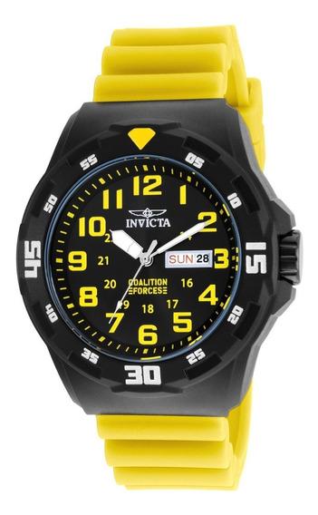 Reloj Invicta 25328 Amarillo Hombres