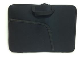 Capa Case Pasta Notebook Com Bolso 15,6 Preto