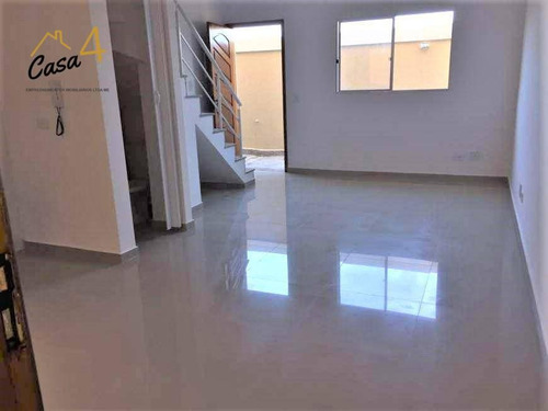 Sobrados Novos Com 2 Dormitórios À Venda Por R$ 258.999 - Itaquera - São Paulo/sp - So0294