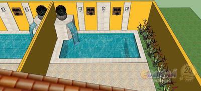 Casa Com Piscina Na Praia , Em Mongaguá . - V7086