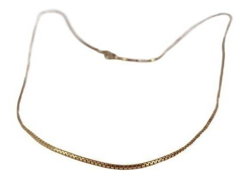 Colar Cordão Veneziano Especial 45cm Ouro 18k - 979
