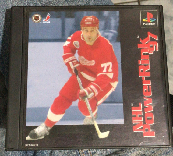 Playstation 1 Jogo Jap Nhl Powerrink 97 Original Ps1