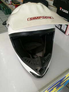 Casco Tipo Cross Simpson Xl
